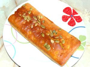 南瓜のパウンドケーキ